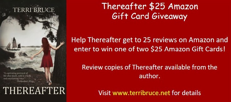 Thereafter Amazon 25 Reviews GC Giveaway